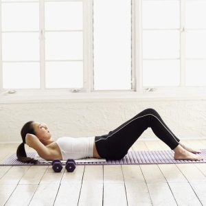 The Curl Up Exercise