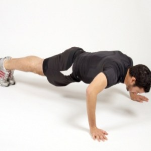 The Press Up Exercise