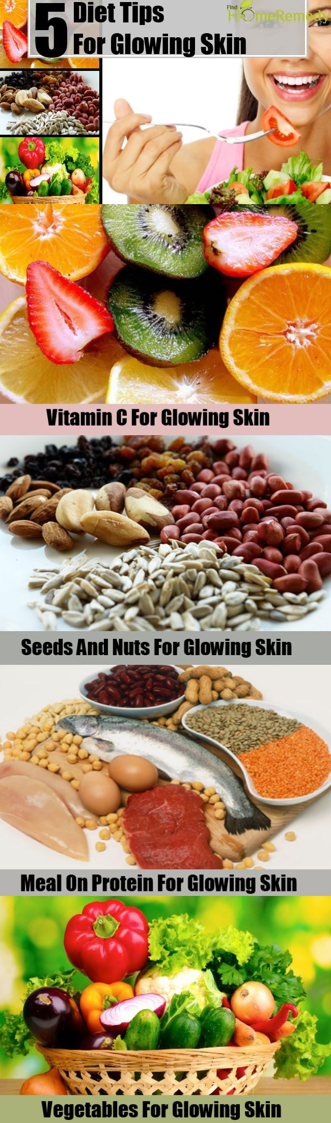 5 Diet Tips For Glowing Skin