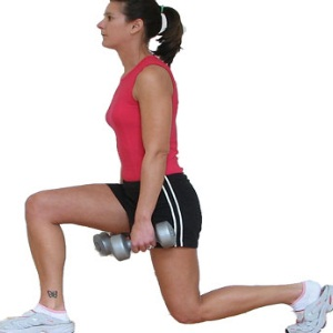 Front Lunges with Weights