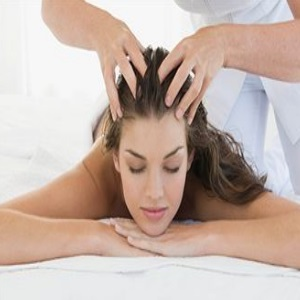 Scalp With Fingertips