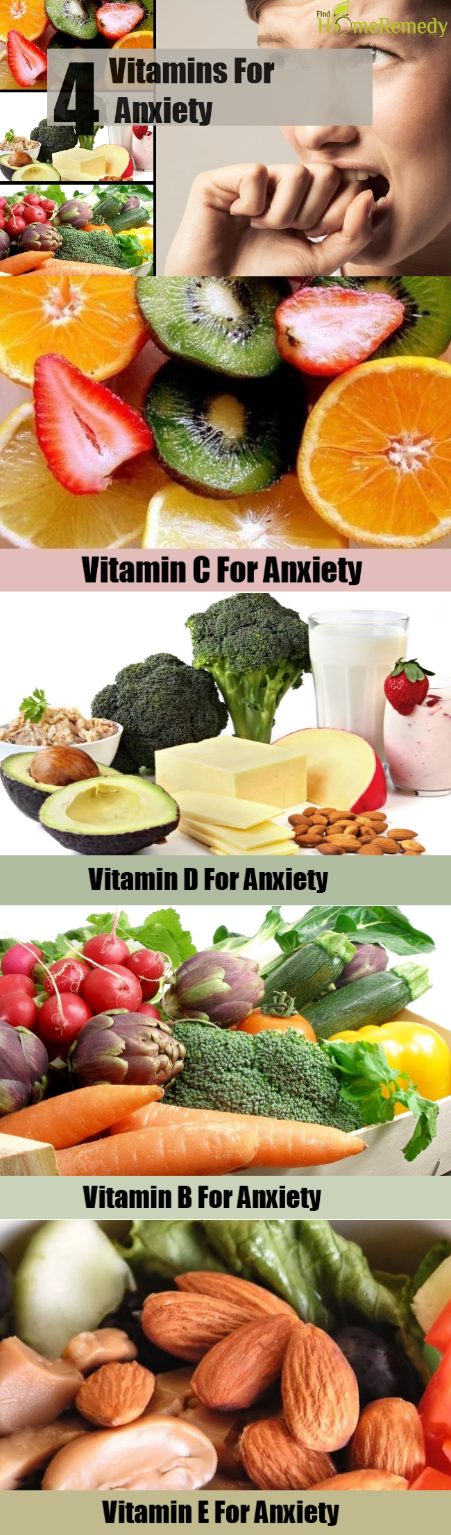 4 Vitamins For Anxiety