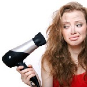 Avoid hair styling products