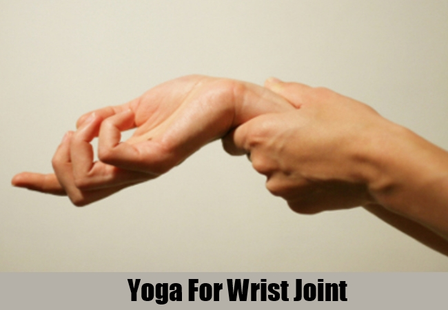 Yoga For Wrist Joint