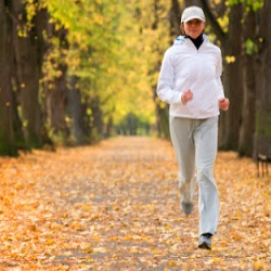 fall fitness exercise