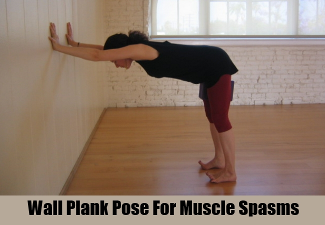 Wall Plank Pose