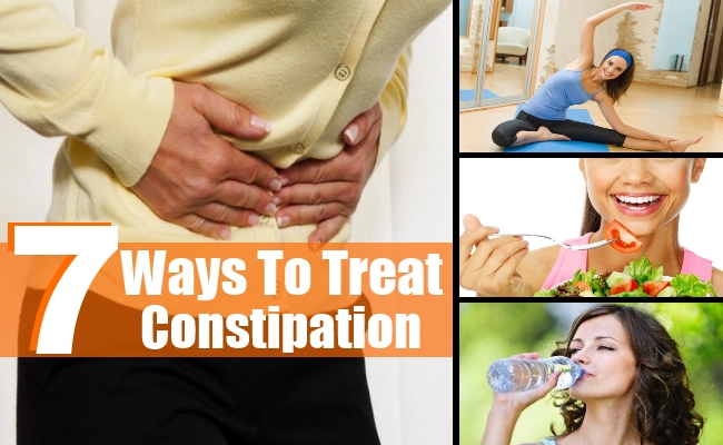 Ways To Treat Constipation
