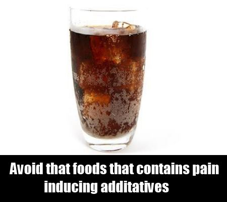 Avoid Pain-Inducing Food Additives