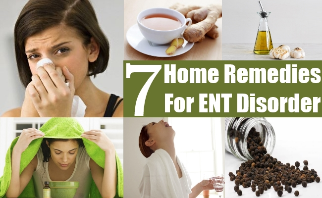 Home Remedies For ENT Disorder