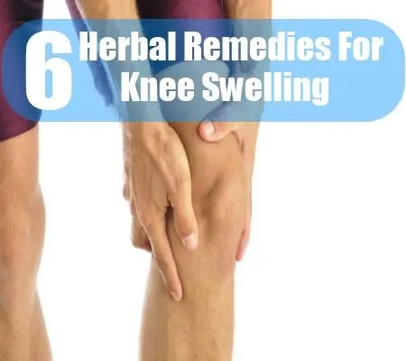 6 Herbal Remedies For Knee Swelling