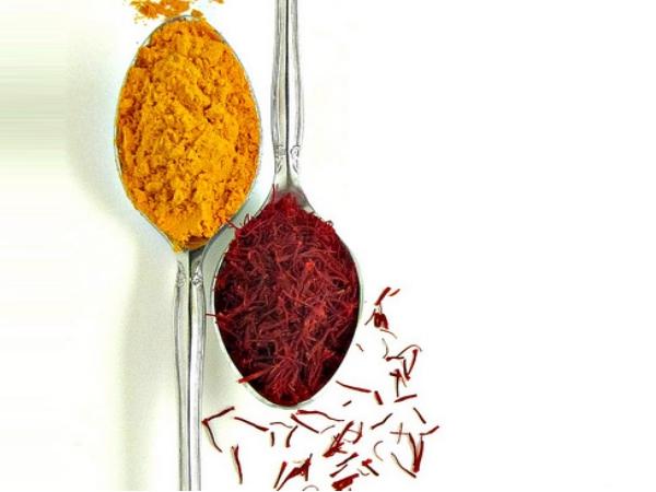 Turmeric and Saffron