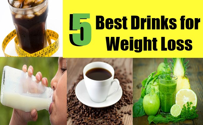 5 Best Drinks for Weight Loss | Find Home Remedy & Supplements
