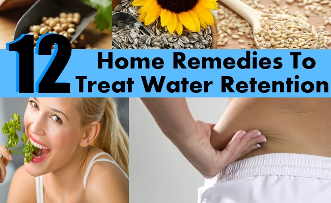 Remedies To Treat Water Retention