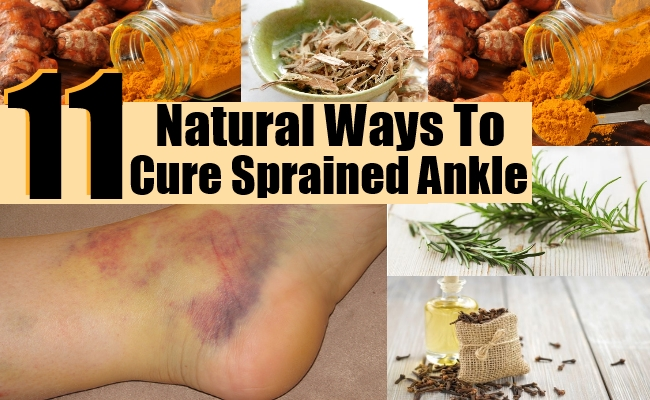 Ways To Cure Sprained Ankle