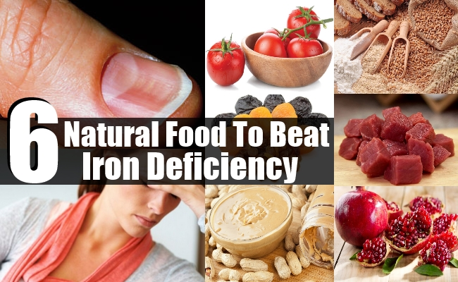 Food To Beat Iron Deficiency
