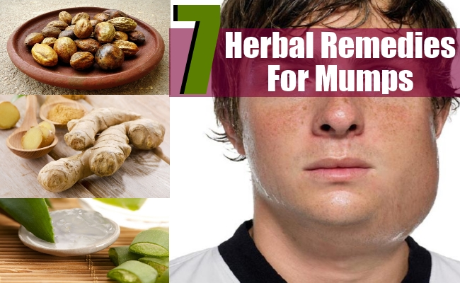 Remedies For Mumps