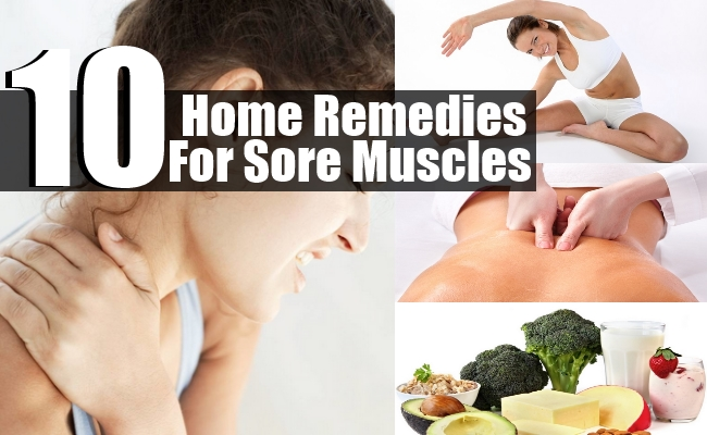 Remedies For Sore Muscles