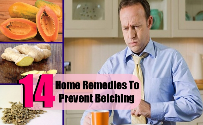 Top 14 Home Remedies To Prevent Belching