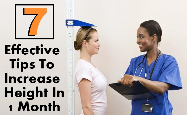 7 Effective Tips To Increase Height In 1 Month