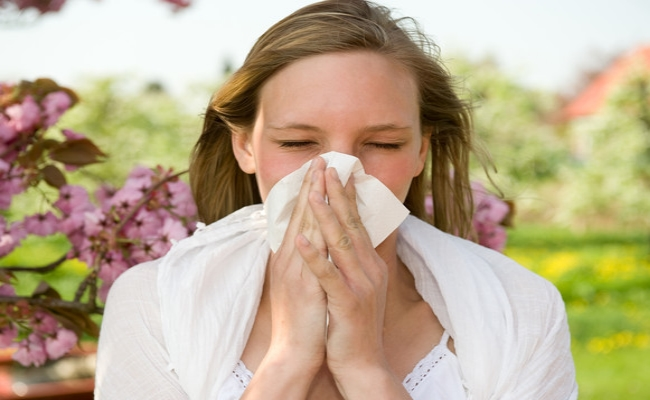 Avoid exposure to allergens
