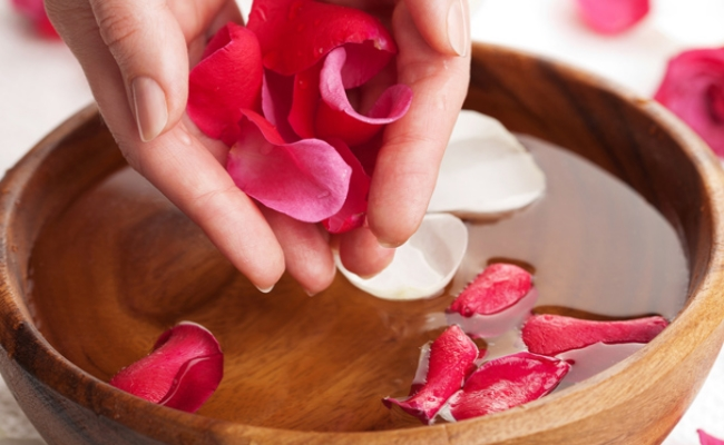 Wash Your Face With Rose Water