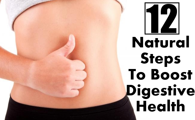 Steps To Boost Digestive Health