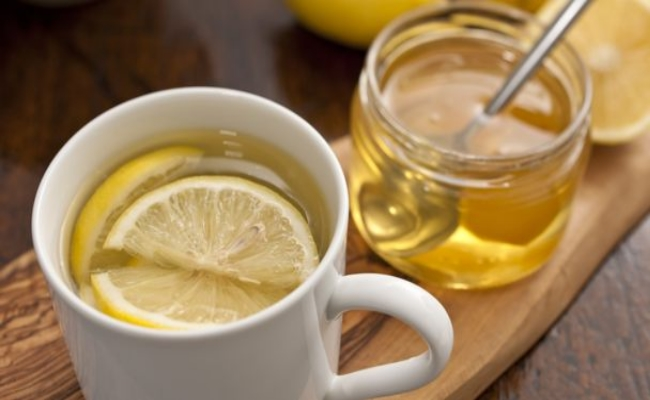 Honey Water And Lemon
