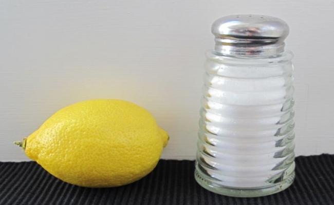 Lemon Juice And Salt
