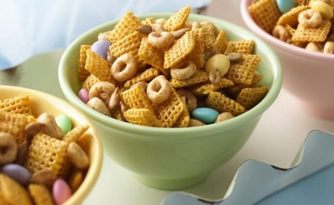 Nutty cereal mix