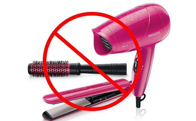 Avoid Excess Use Of Hair Style Appliance