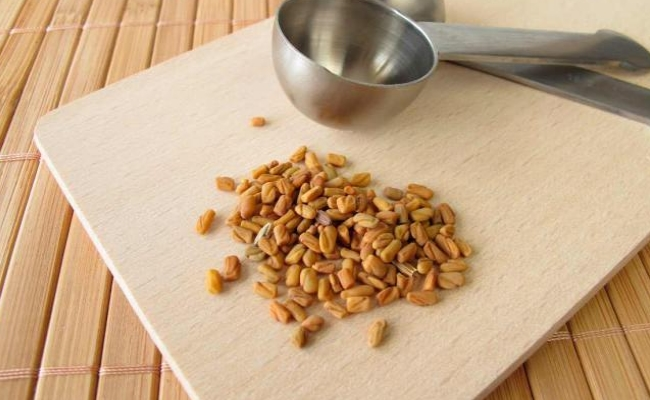 Fenugreek seeds solution