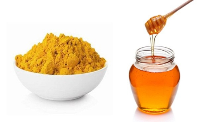 Honey and Turmeric