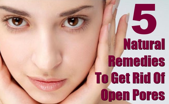 Treat Open Pores Face Naturally