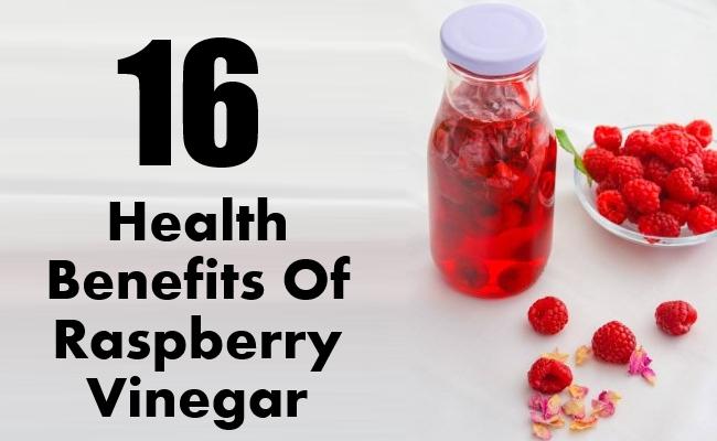 Health Benefits Of Raspberry Vinegar