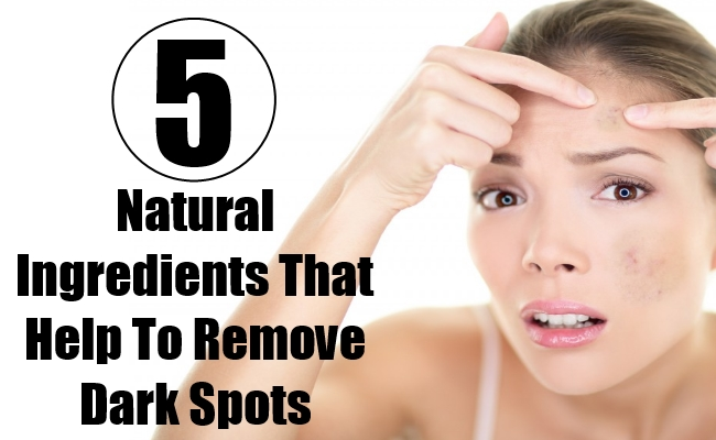 Natural Ingredients That Help To Remove Dark Spots