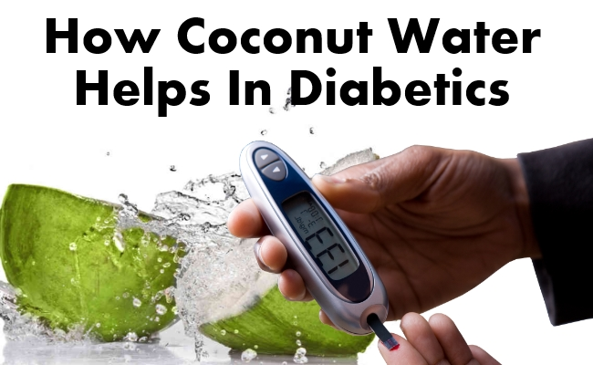 How Coconut Water Helps In Diabetics