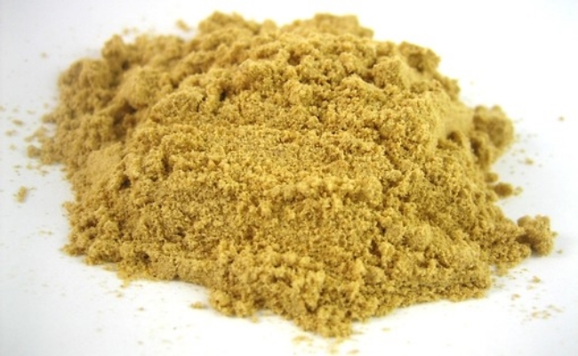 Roasted Fenugreek powder mixed with Warm Water