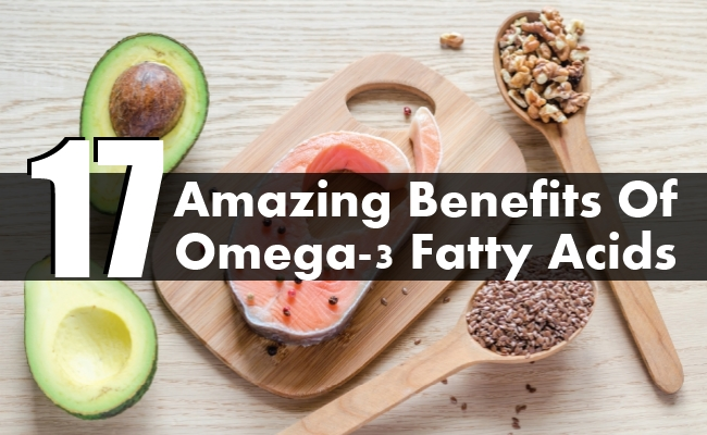 Amazing Benefits Of Omega-3 Fatty Acids
