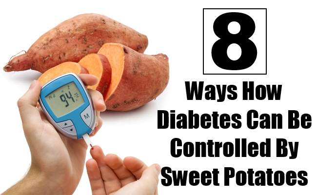 Diabetes Can Be Controlled By Sweet Potatoes