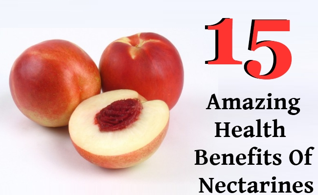 Amazing Health Benefits Of Nectarines
