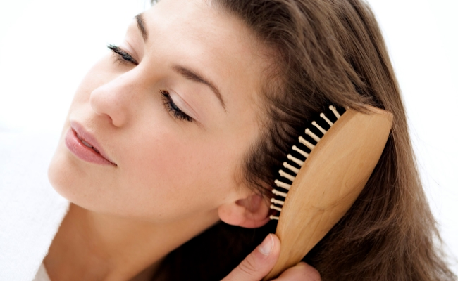 Brush Your Hair Gently