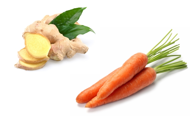 Ginger With Carrot