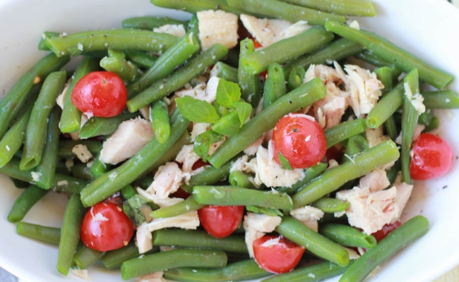 Green Bean With Tuna