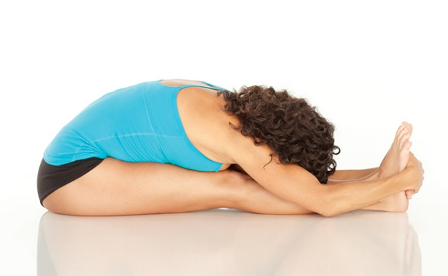 Seated Forward Bend Pose