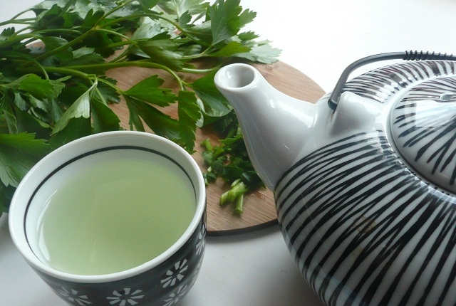 Drink Parsley Tea