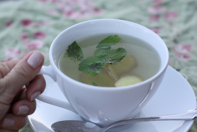 Take Ginger Or Peppermint Tea