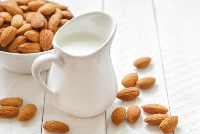 Take Almonds With Milk