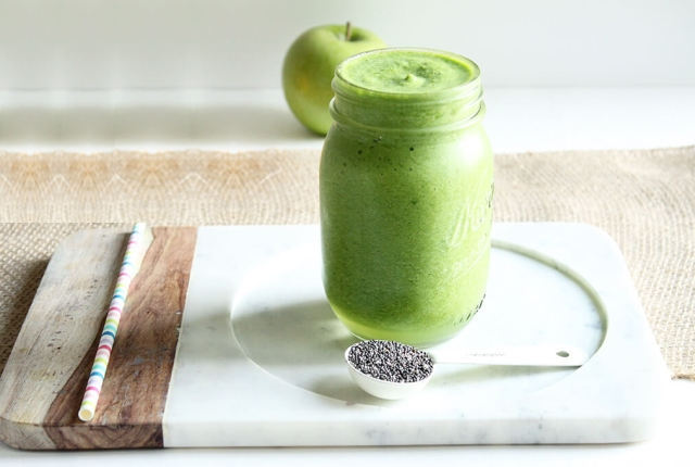 Apple alkaloid smoothie