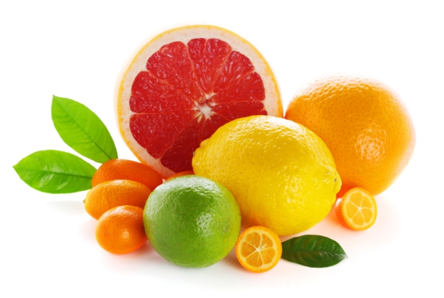 By Applying Paste Of Fruits Rich In Vitamin C