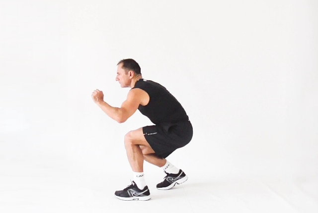 Walking Squats